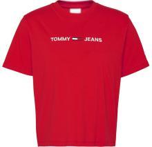 Tommy Hilfiger Dames t-shirt Rood korte mouw