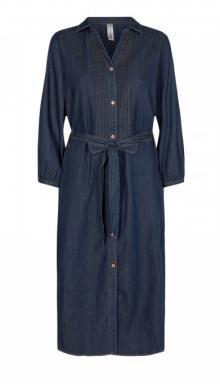 Soya Concept Dames jurk Jeans 3/4-mouw