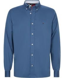 Tommy Hilfiger Heren hemd Blauw lange mouw