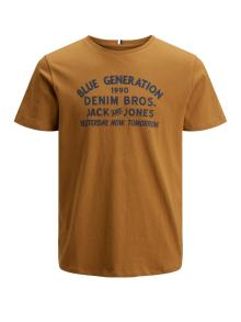 Jack & Jones Junior Kids t-shirt Bruin