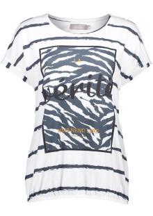 Geisha Dames t-shirt Ecru zonder mouw