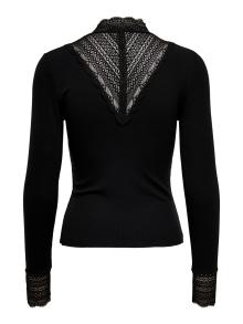 ONLY Dames t-shirt Zwart