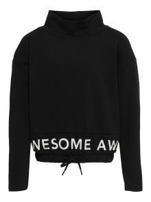 Only Kids Kids sweater Zwart