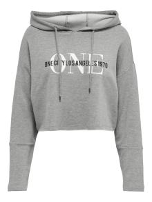 ONLY Dames sweater Grijs
