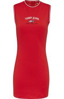 Tommy Hilfiger Dames jurk Rood