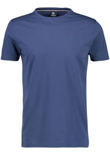 Lerros Heren t-shirt Blauw korte mouw