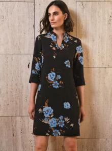 Atmos Dames jurk Zwart 3/4-mouw