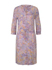 Tom Tailor Dames jurk Paars