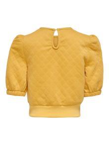 Only Kids Kids sweater Geel