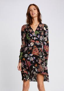 Morgan Dames jurk Zwart