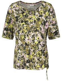 Gerry Weber Dames t-shirt Groen korte mouw