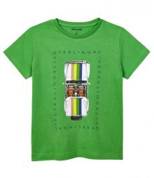 Mayoral Kids t-shirt Groen korte mouw