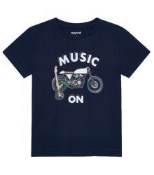 Mayoral Kids t-shirt Blauw korte mouw