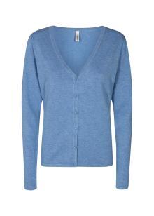 Soya Concept Dames vest Blauw