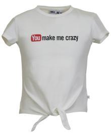 Someone Kids t-shirt Ecru korte mouw
