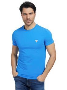GUESS Heren t-shirt Blauw korte mouw