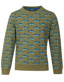 Someone Kids sweater Groen