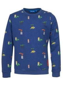 Someone Kids sweater Blauw
