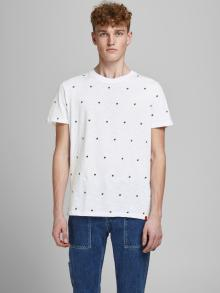 Jack & Jones Heren t-shirt Wit korte mouw