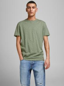 Jack & Jones Heren t-shirt Groen korte mouw