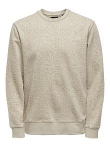 Only & Sons Heren sweater Beige