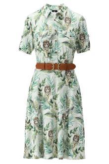 K-design Dames jurk Ecru