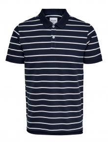 Only & Sons Heren Polo Blauw korte mouw