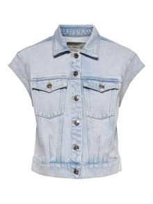 ONLY Dames Gilet Jeans