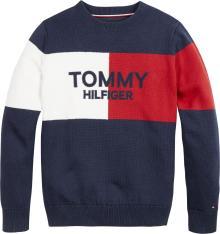 Tommy Hilfiger Kids pull blauw