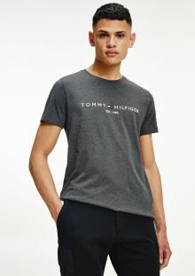 Tommy Hilfiger Heren t-shirt Grijs korte mouw