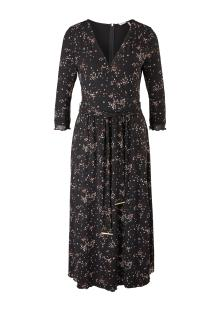 S.Oliver Premium Dames jurk Zwart