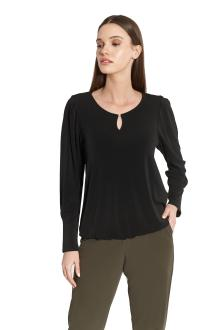 Batida Dames t-shirt Zwart lange mouw