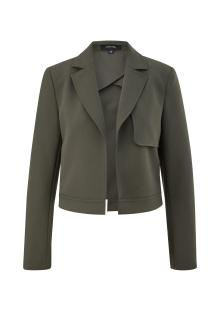 Comma by s.Oliver Dames blazer Groen