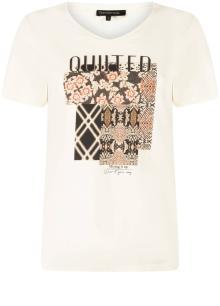 Tramontana Dames t-shirt Ecru korte mouw