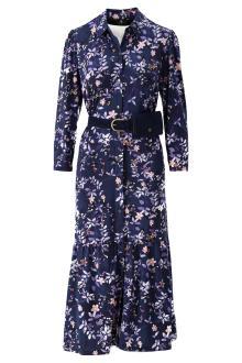 K-design Dames jurk Blauw